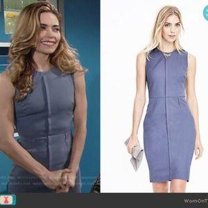 BNWT Steel Blue Sheath Dress